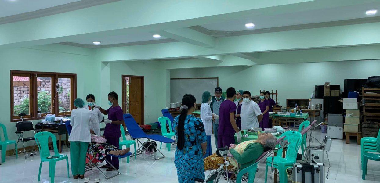 ကုသရေးဦးစီးဌာန၊ သွားကျန်းမာရေးဌာနခွဲမှ နယ်လှည့်ကွင်းဆင်းဆေးကုသရေးလုပ်ငန်းများ ဆောင်ရွက်ခြင်း
