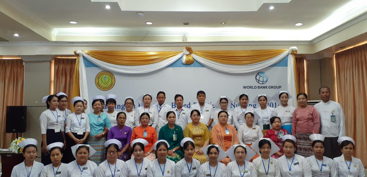 Training on Evidence-Based Practice in Nursing 1/2019 ကျင်းပခြင်း