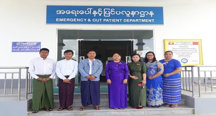 ကုသရေးဦးစီးဌာန၊ စစ်ဆေးရေးဌာနခွဲမှ တိုင်းဒေသကြီးနှင့် ပြည်နယ်များရှိဆေးရုံများသို့ ကွင်းဆင်းစစ်ဆေးခြင်း
